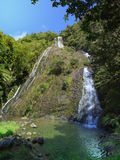 Waihirere Falls, New Zealand Stock Images