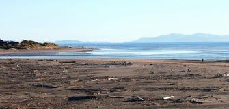 Waikanae plaża, Kapiti wybrzeże, Nowa Zelandia Zdjęcia Stock