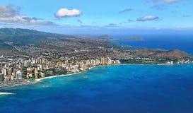 waikiki της Χαβάης στοκ εικόνα με δικαίωμα ελεύθερης χρήσης