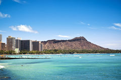 waikiki Гавайских островов Стоковое Фото