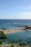 Waikiki, Оаху, Гаваи Стоковые Фотографии RF
