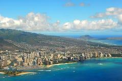 waikiki пляжа воздуха стоковая фотография