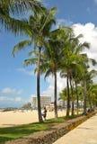 Waikiki Stock Afbeelding