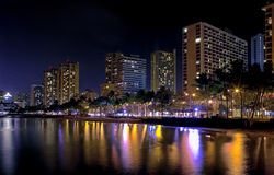 Waikiki Royalty Free Stock Images