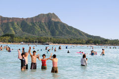 Waikiki Гаваи Стоковые Изображения