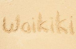waikiki Fotografie Stock