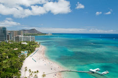 Waikiki Beach Royalty Free Stock Photo