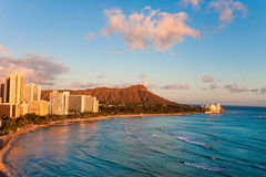 Waikiki beach Stock Photos