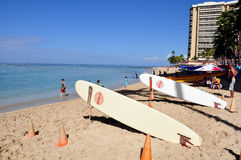 Waikiki beach Stock Photography