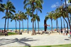 Waikiki beach Stock Photos