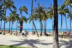 Waikiki beach Royalty Free Stock Photos