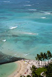 Waikiki Beach Royalty Free Stock Photography