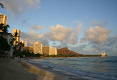 waikiki beach Obrazy Royalty Free
