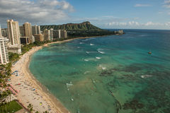 Free Waikiki Beach Coastline Stock Photos - 36079083
