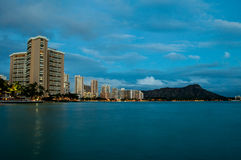 Waikiki Beach - Hawaii Royalty Free Stock Images