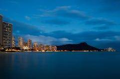 Waikiki Beach - Hawaii Stock Photo