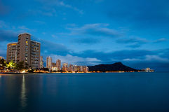 Waikiki Beach - Hawaii Royalty Free Stock Image