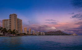 Waikiki Beach - Hawaii Stock Photo