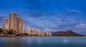 Waikiki Beach - Hawaii Stock Photography