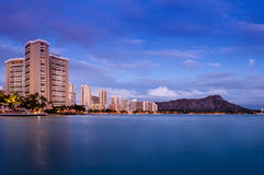 Waikiki Beach - Hawaii Stock Images