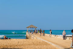 Waikiki Beach Royalty Free Stock Photo