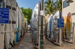 Waikiki Beach Stock Image