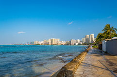 Waikiki Beach Royalty Free Stock Image