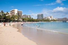 Waikiki Beach - Hawaii Stock Images