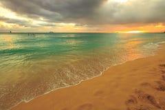 Waikiki beach Hawaii Stock Photography