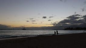 Waikiki beach Hawaii stock video
