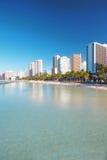 Waikiki Beach - Honiolulu Royalty Free Stock Photo