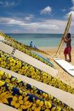 Waikiki Beach - Honolulu - Hawaii Stock Photography