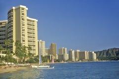 Waikiki Beach, Honolulu, Hawaii Stock Photography