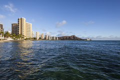 Waikiki Beach Honolulu Hawaii Afternoon Royalty Free Stock Image