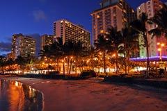 Waikiki Beach, Honolulu, Oahu, Hawaii Royalty Free Stock Image