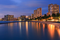 Waikiki Beach - Honolulu Stock Photography
