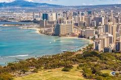 Waikiki Beach Honolulu Stock Image