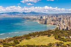 Waikiki Beach Honolulu Stock Photo