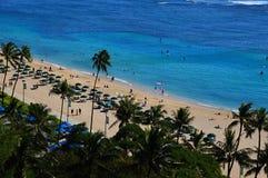 Free Waikiki Beach On The Island Oahu, Honolulu, Hawaii Royalty Free Stock Image - 217980666