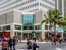 Waikiki Business Plaza Stock Photos