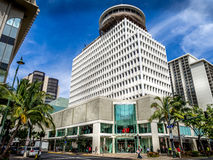 Waikiki Business Plaza Stock Photo