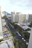 Waikiki gatafestival Royaltyfria Bilder