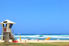 Waikiki Havaí Imagem de Stock Royalty Free