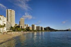 Waikiki Havaí Fotos de Stock Royalty Free