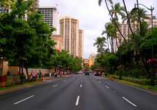 Waikiki Hawaï Royalty-vrije Stock Afbeeldingen