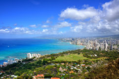 Waikiki Hawaii Royalty Free Stock Photos