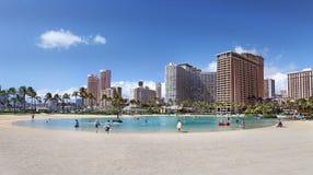 Waikiki Honolulu Hawaii Lizenzfreies Stockbild