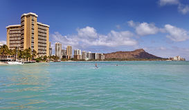 Waikiki Honolulu Hawaii Stock Photo