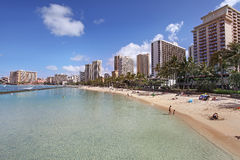 Waikiki Honolulu Hawaii Royalty Free Stock Photo