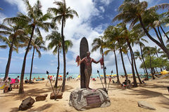 Waikiki Honolulu Hawaii Stock Photo